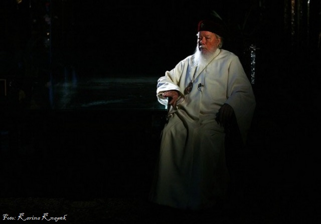 Prea Fericitul Teoctist Arapasu Patriarhul Bisericii Ortodoxe Romane - Foto Karina Knapek via Roncea Ro
