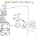 """Cine pe cine """"a facut"""" cu """"Revolutia"""" Rosia Montana. UPDATE: Patapievici, mogulas imobiliar la Rosia Montna"""