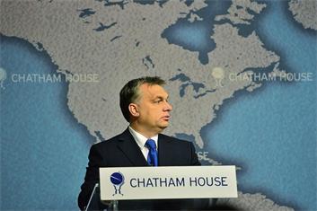 Viktor Orban Chatam House Oct 2013