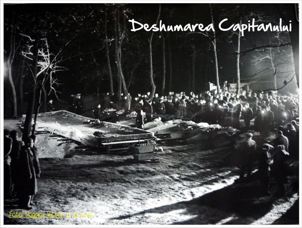 Deshumarea lui Corneliu Zelea Codreanu si a camarzilor sai de la Jilava Nov 1940 8