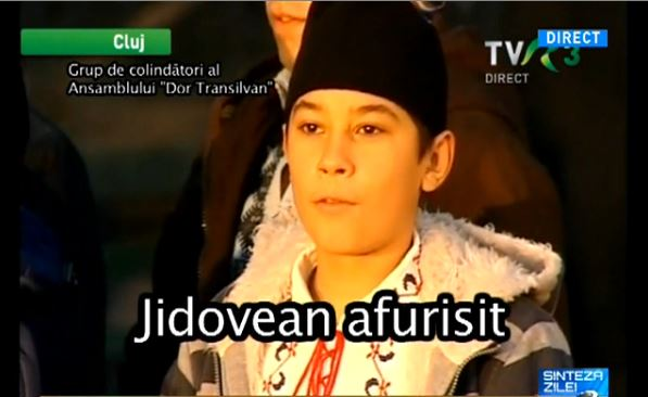 Jidovean afurisit - Colind cica antisemit