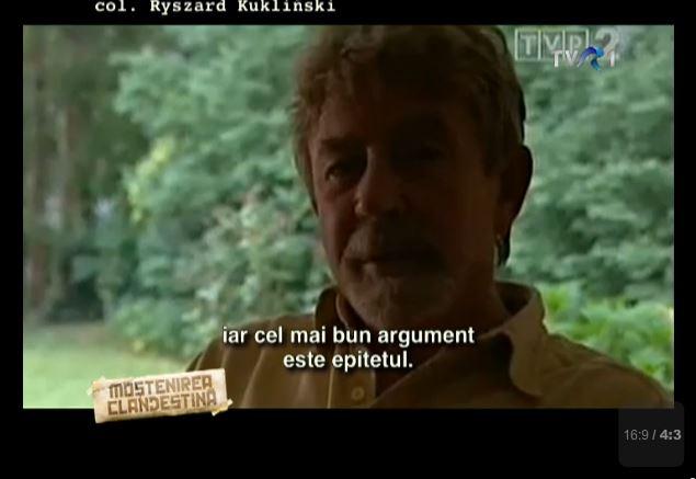 Col Kuklinski vs Pacepa - Mostenirea Clandestina 3