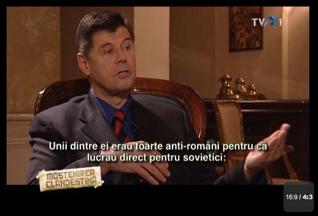 Mostenirea clandestina - Monica Ghiurco - Larry Watts - Stelian Tanase -TVR anti-romani KGB
