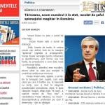 BURSA:  BĂSESCU A CONFIRMAT: Tăriceanu, acum numărul 2 în stat, racolat de şeful spionajului maghiar în România. Semnal RONCEA RO