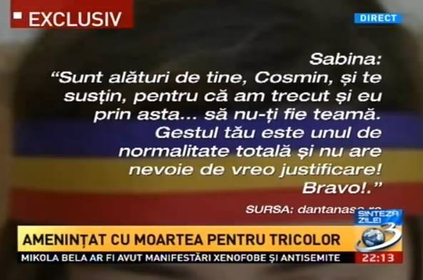 Sabina Elena pentru Cosmin din Sf Gheorghe via Dan Tanasa