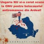 "O intoxicare grosolana: Pretinsele scuze ale Ungariei pentru genocidul antiromanesc, o gogorita a propagandei maghiare. Ungaria NU si-a cerut scuze la ONU pentru ""holocaustul antiromanesc"" din Ardeal"