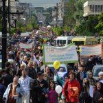 Marșul pentru viață 2017 în 285 de oraşe din România Mare, de Buna Vestire! Îndemnul Patriarhiei Române: Ajută Mama și Copilul! Ei depind de tine! Bucureşti, Piaţa Unirii, Ora 12.30. VIDEO Coaliţia pentru Familie