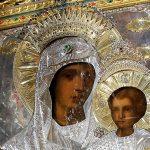 Chipul Maicii Domnului si cel al Pruncului asa cum au fost, pictate de ingeri. Icoana facatoare de minuni a Maicii Domnului Prodromita alaturi de cea a Sf. Ioan Botezatorul de la Manastirea (Schitul) Prodromu din Sfantul Munte Athos. FOTO/INFO/VIDEO