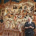 Rugăciunea fierbinte către Sfinţii Mărturisitori a Doamnei Aspazia Oţel Petrescu la comemorarea femeilor deţinute politic în închisoarea de la Mislea. 8 Septembrie 2014