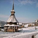 A nins la Mănăstirea Bârsana. FOTO