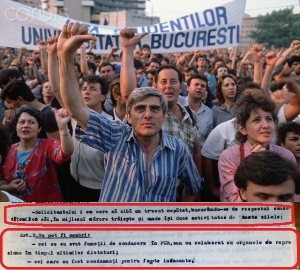NSF Opposition Political Rally in Bucharest