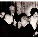 AUDIO EXTRAORDINAR: Discursul Părintelui Dumitru STĂNILOAE la aniversarea de 80 de ani a academicianului Nichifor CRAINIC. Cercetătorul Florin Duţu prezintă înregistrarea, preluată de MĂRTURISITORII. Plus FOTO