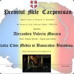 """Premiul """"Mile Cărpenişan"""" oferit de Civic Media merge în Basarabia: Istoricul, arhivistul şi jurnalistul Alexandru Moraru, recompensat pentru Curaj şi Excelenţă de Ziua Libertăţii Presei"""