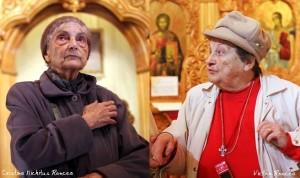 Mariuca Vulcanescu fiica lui Mircea si Simona Popa Gyr fiica lui Radu - Foto Roncea Ro