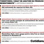 """Notificare publică a numitului Katz Marco Maximilian de la ONG-ul """"MCA România"""""""