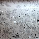 Omagiul artistului Paul Hitter pentru victimele de Halloween de la Colectiv Club