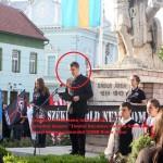 """Pentru ce a fost arestat teroristul ungur de la Târgu Secuiesc şi pentru ce o să primească 10 ani de închisoare. FOTO cu Beke Istvan Attila """"independentistul"""" """"Ţinutului Secuiesc"""" în acţiune aprobată de primarul UDMR Bokor Tibor"""