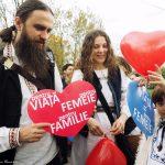 La Marşul pentru Viaţă din Bucureşti, 2016. FOTO: Cristina Nichituş Roncea
