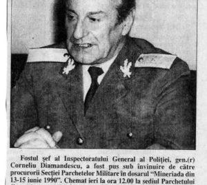Corneliu Diamandescu 13 iunie 1990
