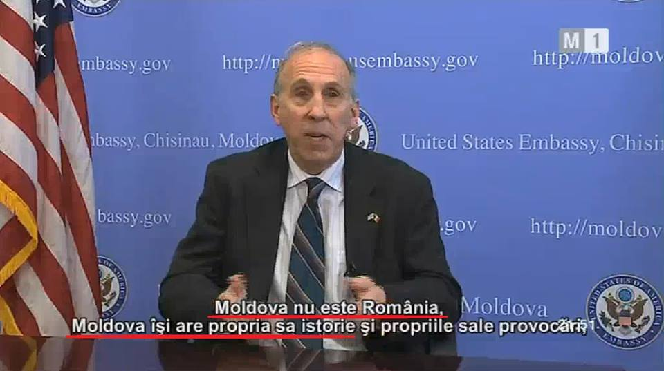 James Pettit, ambasadorul SUA în Republica Moldova, 26 august 2016 Romania