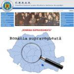 O iniţiativa merituoasă a CNSAS: România supravegheată – HARTĂ