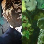 "27.08.2012: Basescu este reinstalat. 28.08.2012: Patriciu este achitat. Traian Basescu, 2009: ""Sa-ti fie rusine, Dinu Patriciu!"". Traian Basescu, 2012: ""Eu nu lupt pentru scaunul meu, eu lupt pentru Justitie!"". Famous quotes, presidents and ""moguls"" illustrated with artwork by Eugene Al Pann"