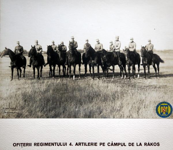 6 Reg 4 Artilerie la Rakos - Armata Romana la Budapesta 1919 - Foto Roncea Ro - Ziaristi Online - Arhivele Nationale
